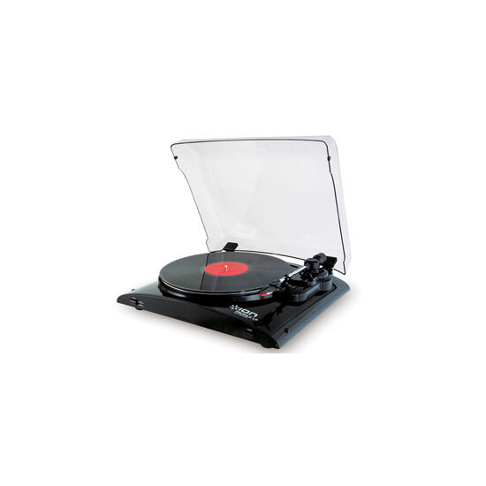 USB Turntable with Dust Cover