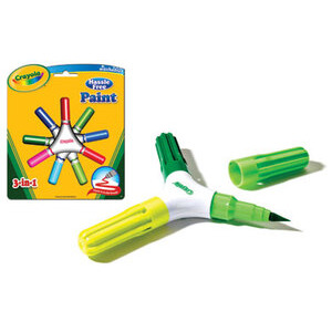 Photo of Crayola 3 In 1 Paint Brush Pens Toy