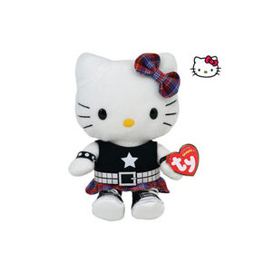 Photo of Ty Beanie - Hello Kitty Rock Toy