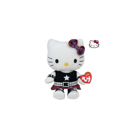 Ty Beanie - Hello Kitty Rock