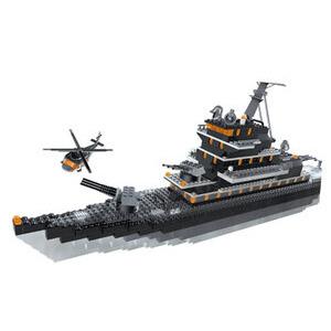 Photo of Mega Bloks - Pro Builder Carbon Deluxe Set - Battleship Toy