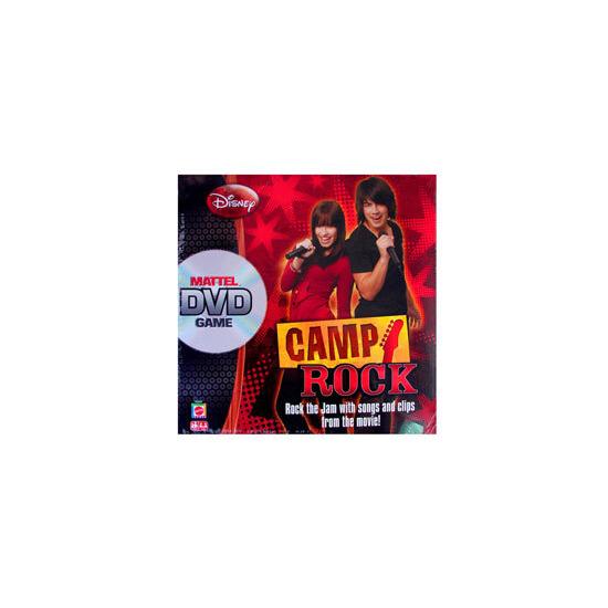 Camp Rock DVD Game