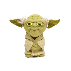"Photo of Star Wars Yoda 4"" Soft Toy Toy"