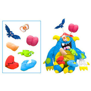 Photo of Doodle Monster - Gross Out Rip 'Em Apart Toy