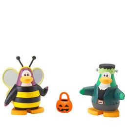 Disney Club Penguin - 5cm Mix 'n' Match Figure Series 4 Bumble Bee and Frankenpenguin Reviews