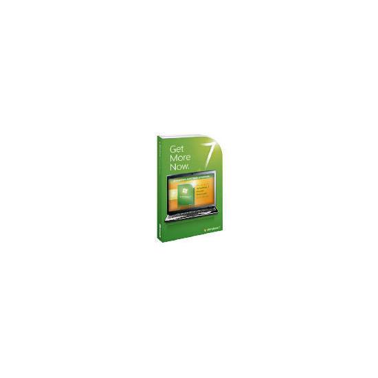 Microsoft Windows 7 Home Premium (Anytime Upgrade From Windows 7 Starter)