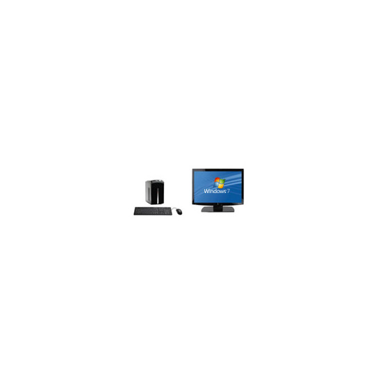 """Packard Bell D2520UK with 19"""" monitor"""