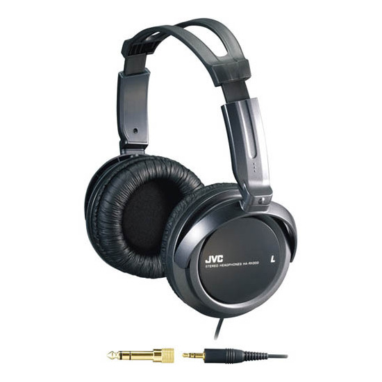 JVC HA-RX300 Full Size Extra Bass On Ear Headphones