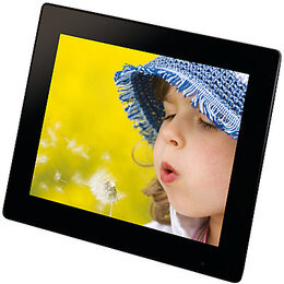 John Lewis Slim Multimedia Digital Photo Frame, 8 Inch