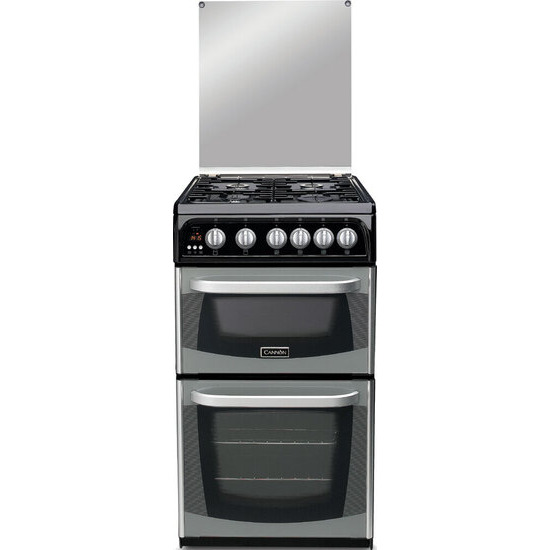 Cannon C50GCIS Connemara Gas Cooker, Silver