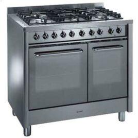 Indesit KP900GX Dual Fuel Range Cooker, Stainless Steel Reviews