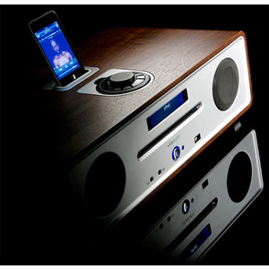 Photo of Vita R4 DAB Audio iPod Integrated Music System, Midnight Black Lacquer HiFi System