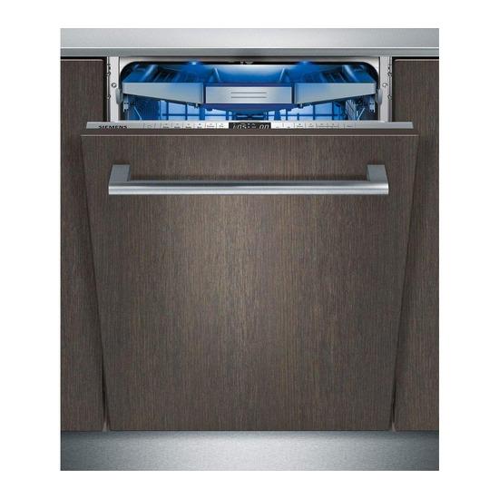 Siemens iQ500 SN26M892GB Fullsize Dishwasher Stainless Steel