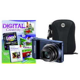 Samsung WB250F Black Camera Kit inc PCT Photoshop Elements and Case Reviews