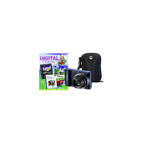 Samsung WB250F Black Camera Kit inc PCT Photoshop Elements and Case