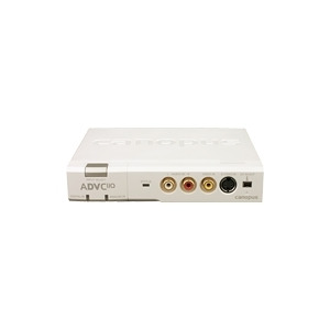 Photo of Canopus ADVC 110 - Video Input Adapter - IEEE 1394 (FireWire) - NTSC, SECAM, PAL Video Editing Card