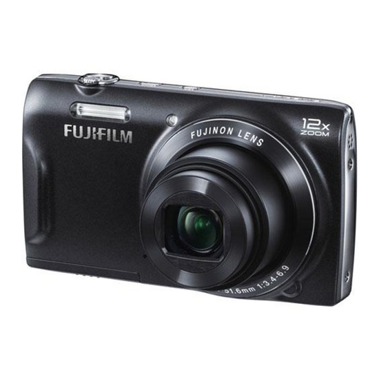 Fujifilm FinePix T550 Compact Digital Camera - Black