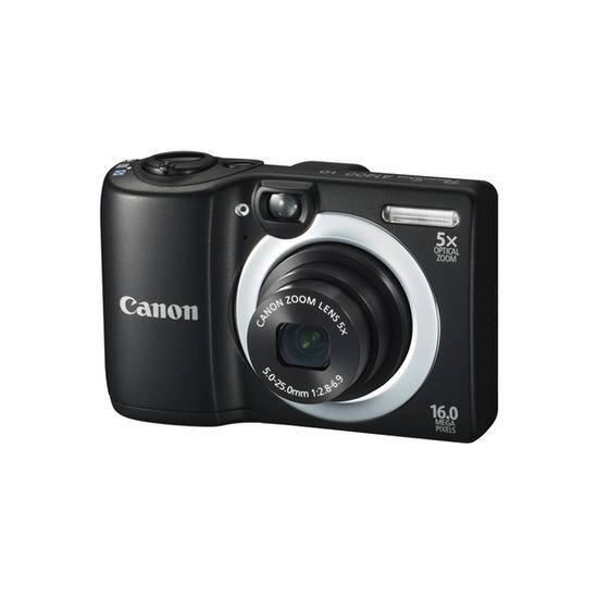 Canon PowerShot A1400 Compact Digital Camera - Black