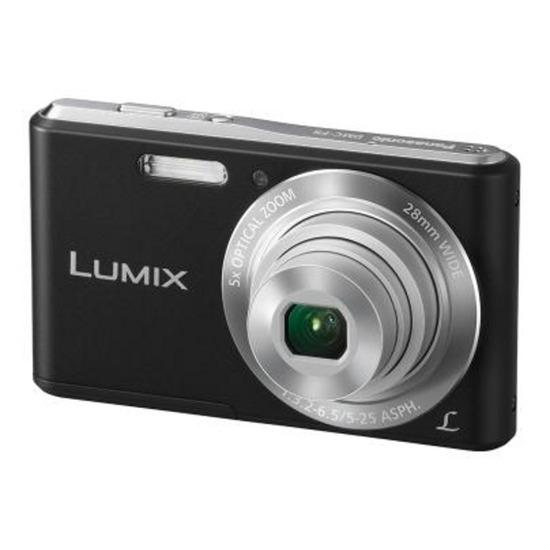 Panasonic Lumix DMC-F5 Compact Digital Camera - Black