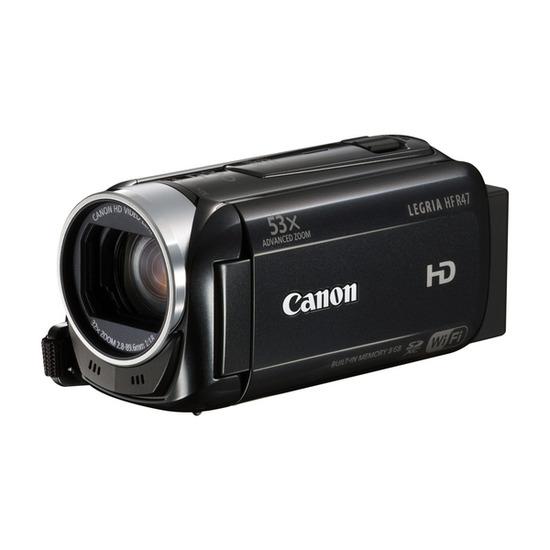 Canon Legria HF R47 Full HD Camcorder - Black