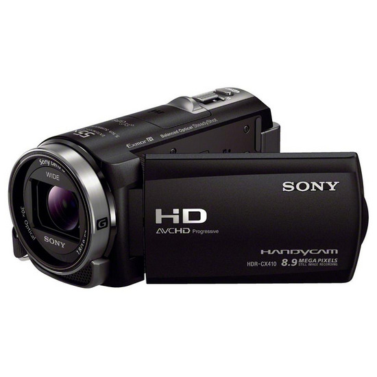 SONY HDRCX410 Full HD Camcorder - Black