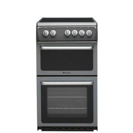Hotpoint HAE51GS Electric Ceramic Cooker - Graphite Reviews