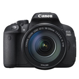 Canon EOS 700D SLR Camera Black 18-135mm IS STM 18MP Reviews