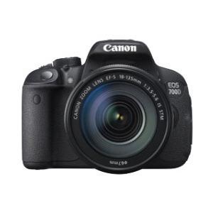 Photo of Canon EOS 700D SLR Camera Black 18-135MM IS STM 18MP Digital Camera