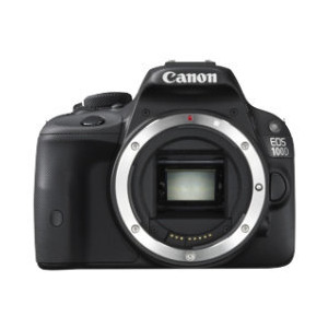Photo of Canon EOS 100D Digital SLR Camera Black Digital Camera