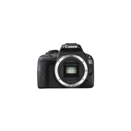 Canon EOS 100D Digital SLR Camera Black