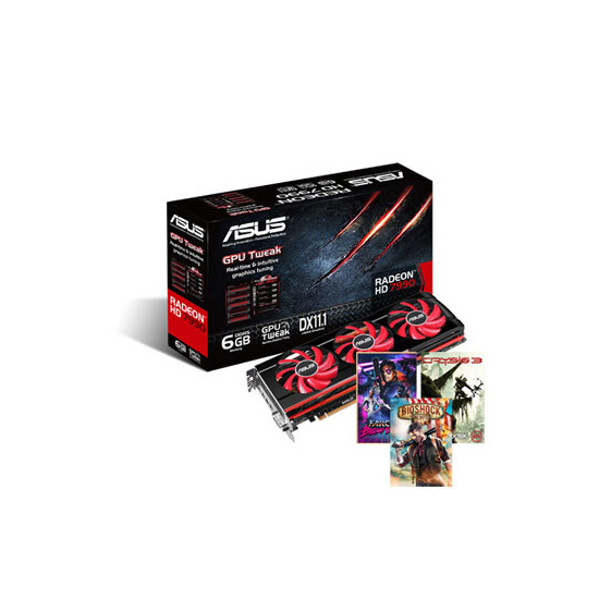 Asus HD 7990 AMD Radeon 6GB