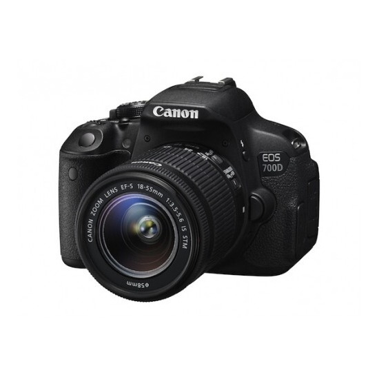 Canon EOS 700D Body with 18-55mm IS STM and 55-250mm IS II Twin Lens Kit