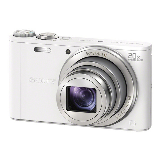 SONY DSCWX300W Advanced Compact Digital Camera - White