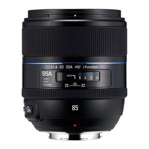 Photo of Samsung EX-T85NB 85 mm F/1.4 ED NX SSA Lens