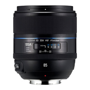 Photo of Samsung EX-T85NB 85 mm F/1.4 ED NX SSA Lens