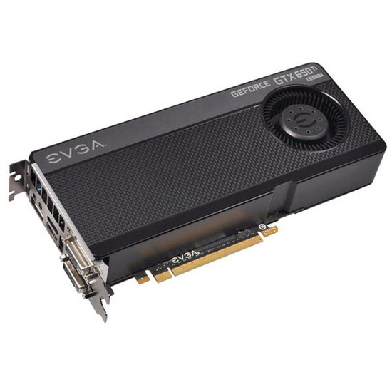 EVGA NVIDIA GeForce GTX650Ti BOOST PCI-E Graphics Card - 2 GB