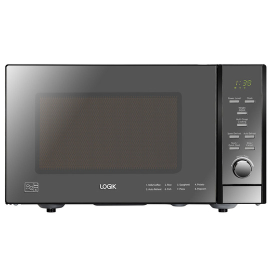 Logik L25MDM13 Solo Microwave - Black