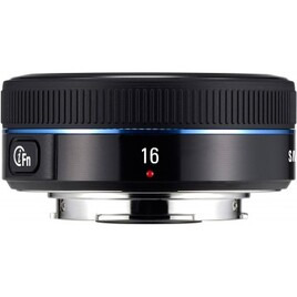 Samsung 16mm f2.4 iFunction Pancake Lens for NX
