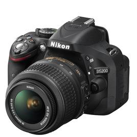 Nikon D5200 SLR Camera Red 18-55mm VR Lens Kit 24MP Reviews