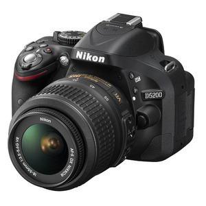 Photo of Nikon D5200 SLR Camera Red 18-55MM VR Lens Kit 24MP Digital Camera