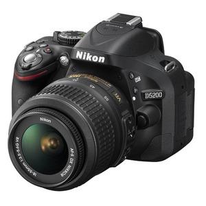 Photo of Nikon D5200 SLR Camera Red 18-55MM VR Lens Kit 24MP Digital Camera