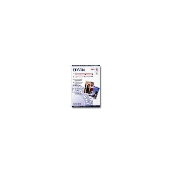 Epson Premium - Semi-gloss photo paper - Super A3/B (330 x 483 mm) - 251 g/m2 - 20 sheet(s)