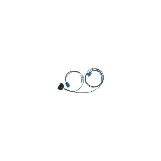 Rose Electronics Bliss (UKBL-2P) (UKBL2P) 2-port KVM Switch