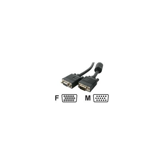StarTech.com High-Resolution Coaxial SVGA - Display extender - HD-15 (M) - HD-15 (F) - 7.6 m