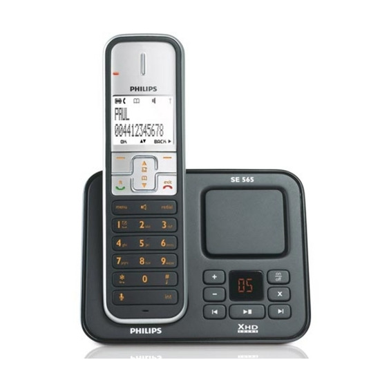 Philips SE5651 with Answer Machine