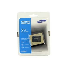 Photo of Samsung 2GB SD Memory Card Memory Card