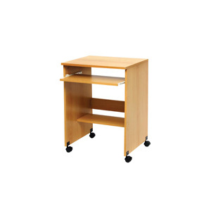 Photo of PC Line Wood Effect Trolley Desk Office Furniture