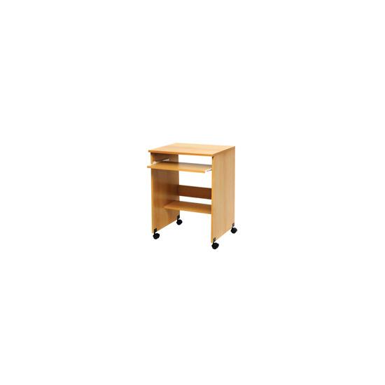 PC Line Wood Effect Trolley Desk