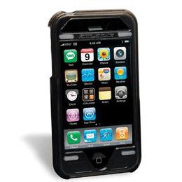 Scosche Kick Back Case Black iPhone3G/3GS