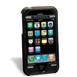 Scosche Kick Back Case Black iPhone3G/3GS